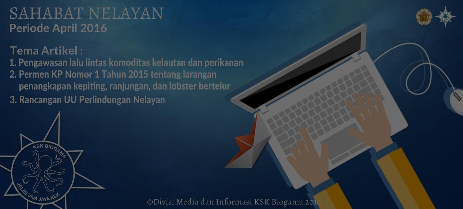 Submit Artikel Sahabat Nelayan Periode April 2016