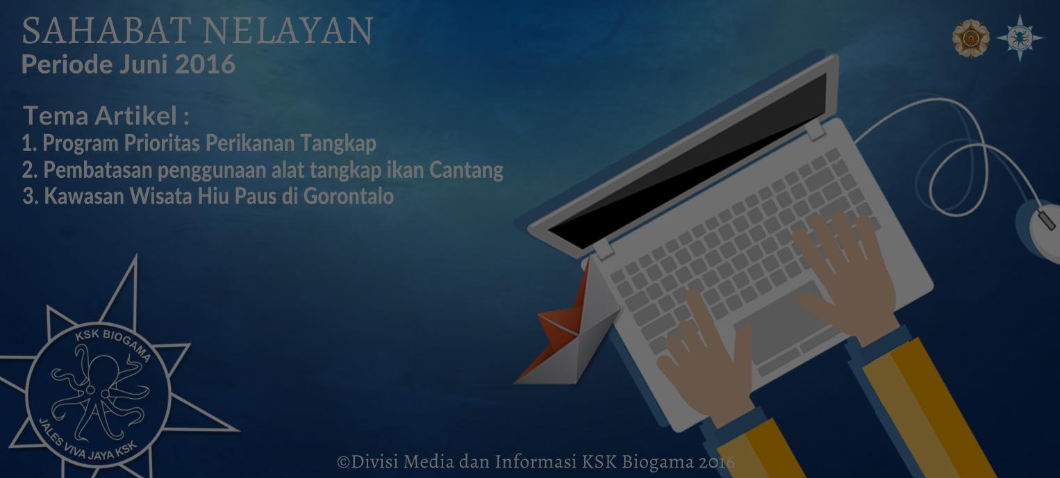 Submit Artikel Sahabat Nelayan Periode Juni 2016